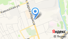 Ледкрафт на карте