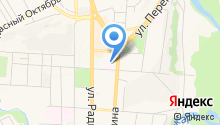 Медико-санитарная часть МВД по Курской области на карте