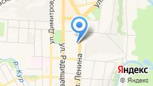 Элема на карте