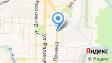 Dюон на карте