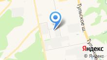 SK на карте