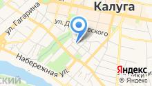 Адвокаты Калуги на карте