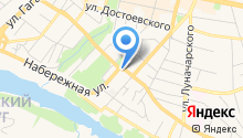-газ на карте