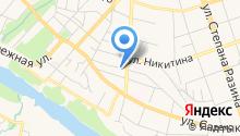 STV на карте