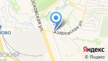 Азарово на карте