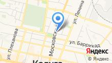Touche на карте