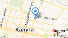 Централизованная библиотечная система г. Калуги на карте