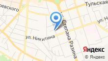 Lwood на карте