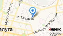 Автомойка на ул. Баррикад на карте