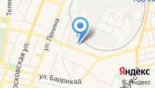 Яков Крицкий на карте