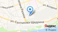 Genser на карте