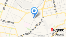 Абриколь на карте