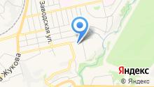 Автостоянка на Хрустальной на карте