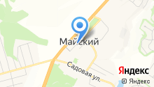 Общежитие на карте