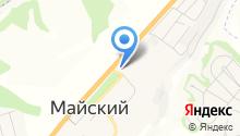 АЗС Майская на карте