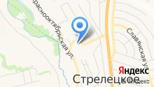 Стрелецкая средняя общеобразовательная школа на карте