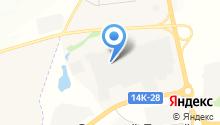 Белгородское на карте