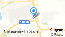 Бизнестраксервис на карте