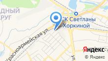 AutoDYE на карте