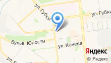 PEREЦ на карте