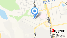 Эликонт на карте