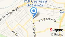 Октябрьская центральная адвокатская контора на карте