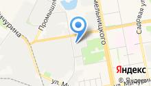 GEOtarget на карте