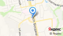 Choupette на карте
