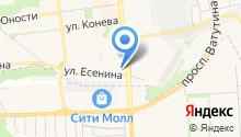5 звёзд на карте
