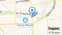 ELFA на карте