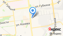 Prima на карте