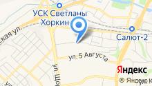 Love отель на карте