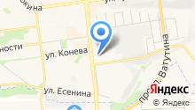 Мадам Бровкина на карте
