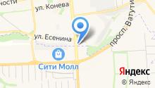 Partyfon на карте