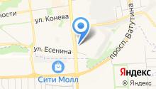 Praty на карте