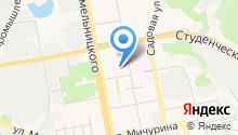 Белгородская областная клиническая больница Святителя Иоасафа на карте