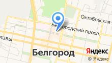 Студия перманентного макияжа (татуажа)  Tatual Белгород на карте