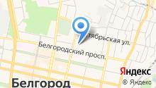 1 отряд ФПС по Белгородской области, ФГКУ на карте