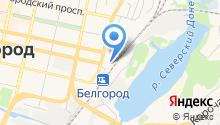Белгородский таможенный пост на карте