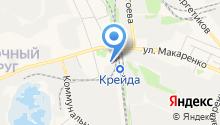 Специализированная часть №5 по тушению крупных пожаров г. Белгорода на карте