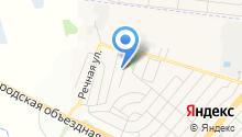 Почтовое отделение пос. Новосадовый на карте