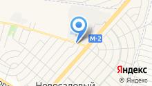 НАНОСТРОЙ на карте