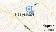 Многофункциональный центр предоставления государственных и муниципальных услуг Белгородского района, МАУ на карте