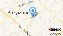 Племзавод Разуменский, ЗАО на карте