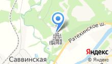 Монастырская гостиница на карте