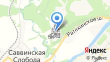 Саввино-Сторожевский ставропигиальный мужской монастырь на карте