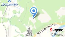 Звенигородский на карте