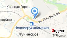 Автомойка на Почтовой на карте