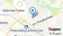 АЗС Истринская топливная компания на карте