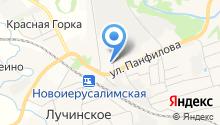 Истринское РАЙПО на карте